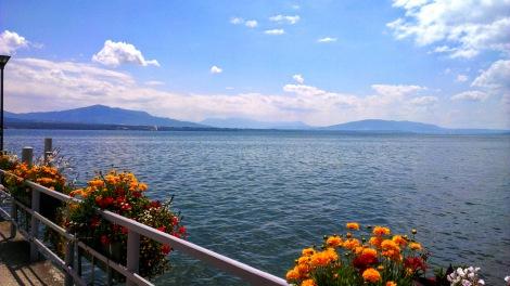 lac léman - view from Nyon