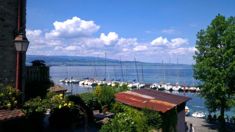lac léman - view from Yvoire